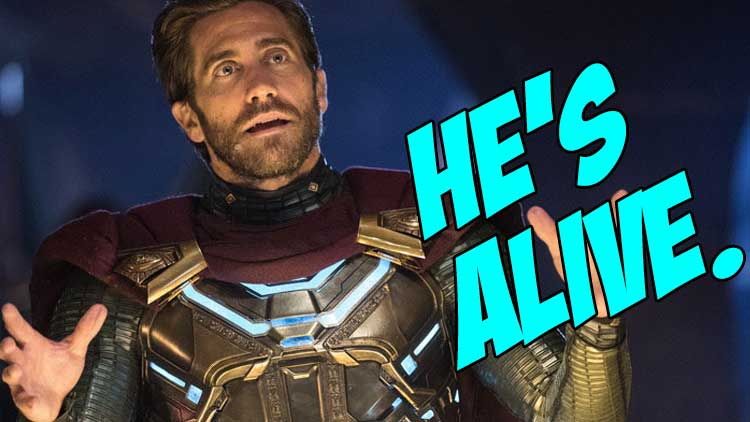 Sony's Mysterio-us plans for the 'still alive' Jake Gyllenhaal