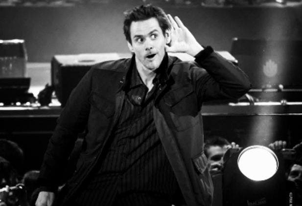 Jim Carrey one of famous left handed celebrity