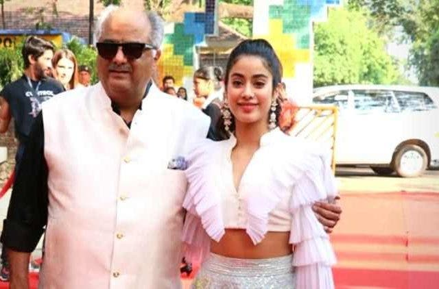 Janhvi and Boney Kapoor in Bombay Girl Bollywood DKODING