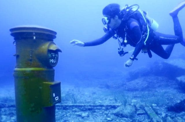 Japan-has-the-deepest-underwater-postbox-NewsShot-DKODING