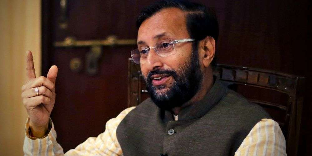 Parkesh-Javadekar-Defends-Govt-Says-One-Tree-Is-Cut-5-10-Are-Planted-India-Politics-DKODING