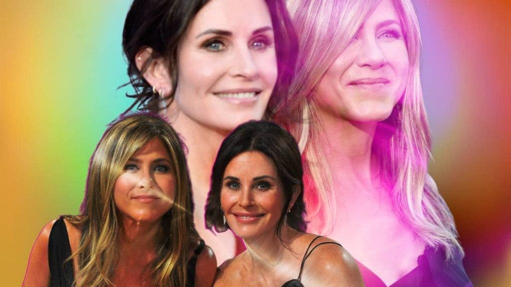 FRIENDS? Courteney Cox Channels Her Inner 'Monica Geller' To Beat Jennifer Aniston At Pool Game