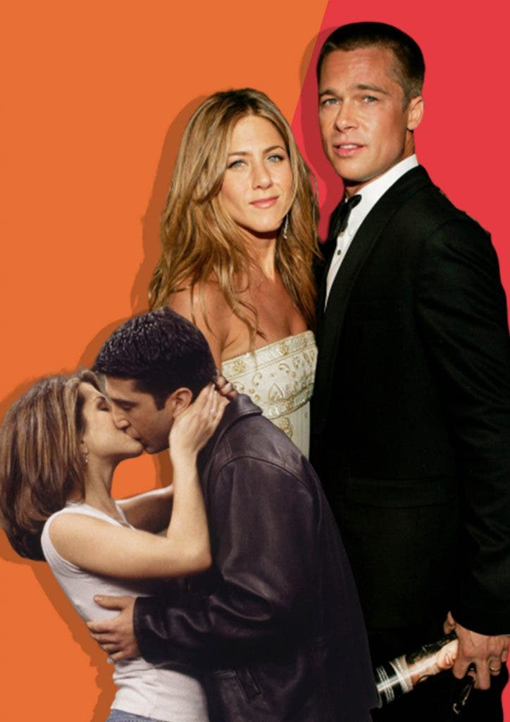 How Ross and Rachel's relationship inspired Jennifer Aniston to still remain friends with Brad Pitt