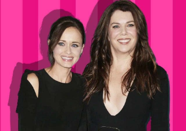 Jess and Rory Gilmore Girls