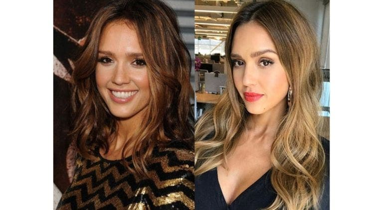 Jessica-Alba-Brunette-Hair-Fashion-And-Beauty-Lifestyle-DKODING