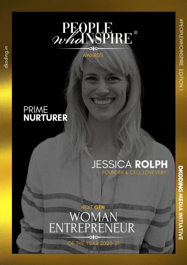 Jessica Rolph People Who Inspire PWI Woman Entrepreneur of the Year Award 2020-21