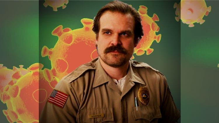 Stranger Things' Jim Hopper Will Help The World Out Of The COVID-19 Aftereffects