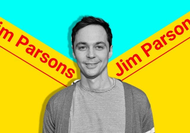 Jim Parsons is allergic to cats but the felines are also his good luck charm