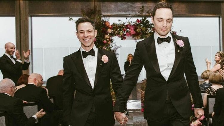 Jim-Parsons-Todd-Spiewack-Marriage-Hollywood-Entertainment-DKODING