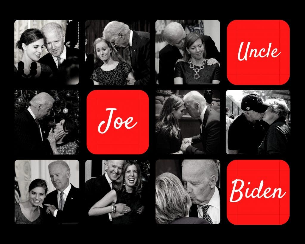 "Americans are already aware about the ""touchy feely-ness"" of Biden and still have accepted him as their nominee"