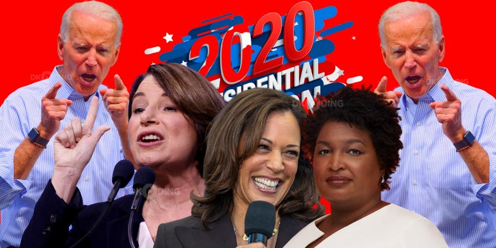 DKODING  one of top three who could be Joe Biden's pick for Vice President candidates