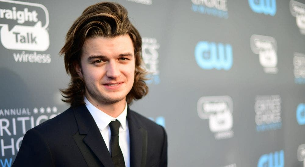 Joe Keery is ready for his next project 'Free Guy'