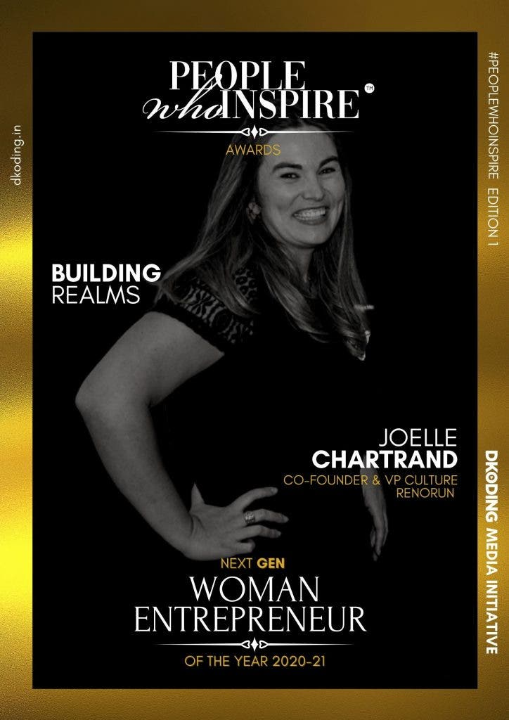 Joelle Chartrand People Who Inspire PWI Woman Entrepreneur of the Year Award 2020-21