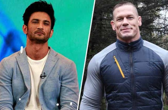 John Cena-Sushant Singh Rajput-Bollywood-Entertainment-DKODING