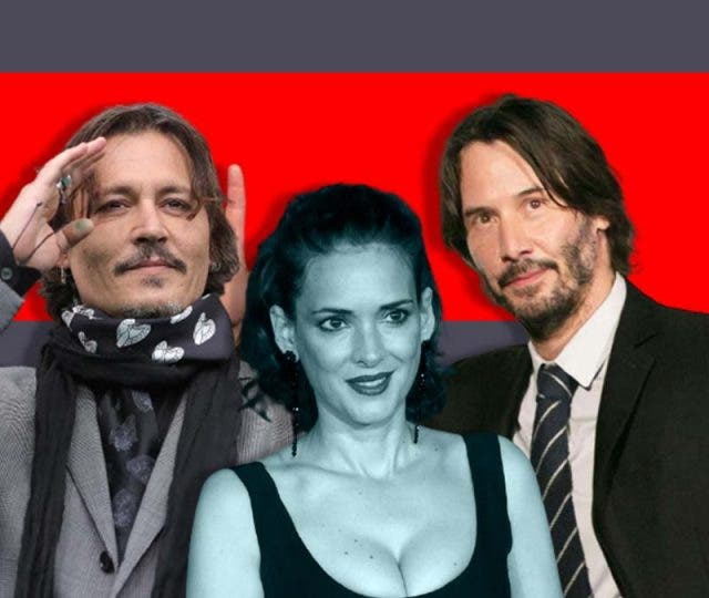 Are Johnny Depp and Keanu Reeves step husbands for Winona Ryder?