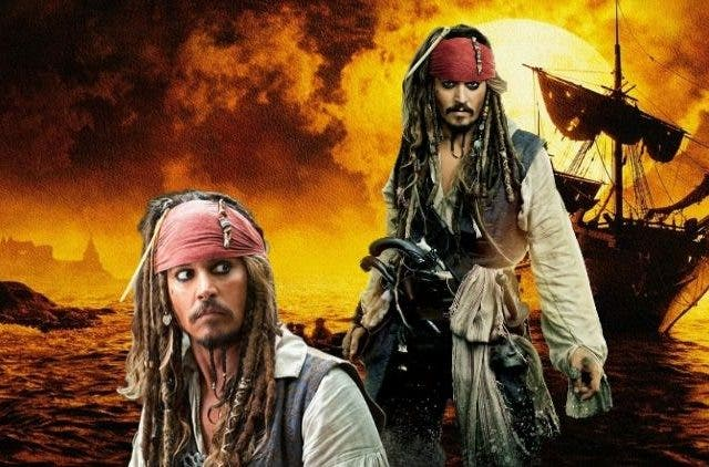 Depp in 'Pirates of the Caribbean's' sixth instalment.