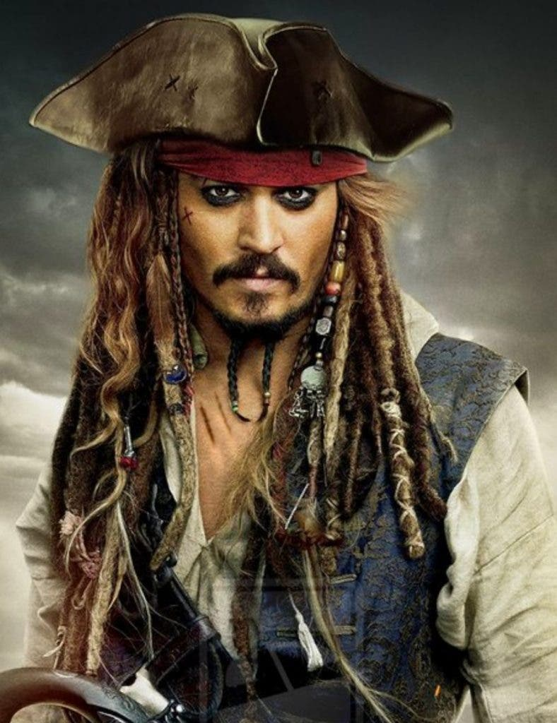 Johnny Depp In Pirates Of The Caribbean DKODING