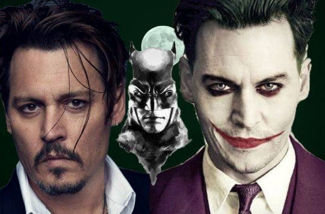 Johnny Depp as Joker in Batman DKODING