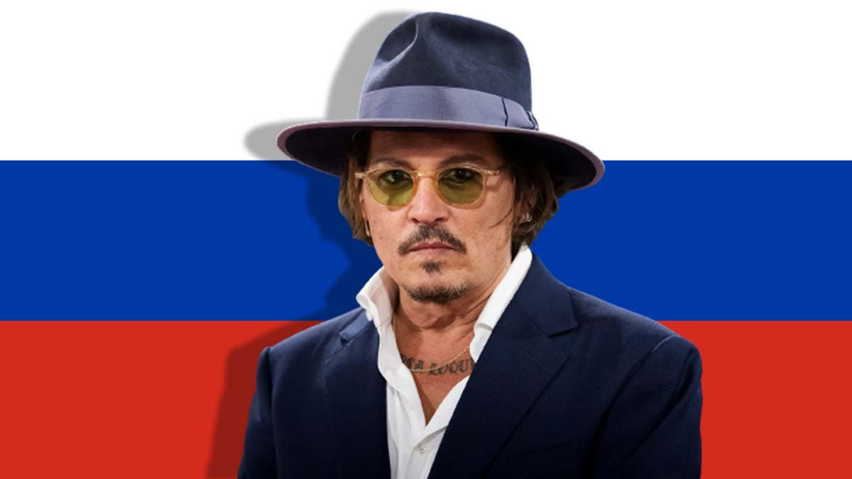 Frustrated with abandonment from Hollywood, Johnny Depp is moving to Russia