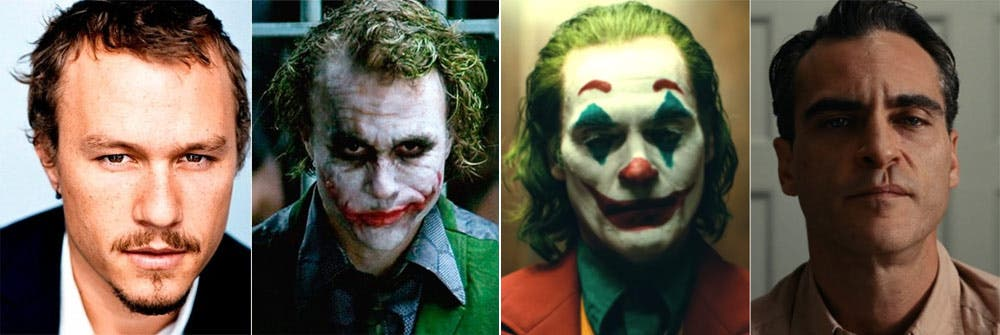 Joker-Heath-Leadger-Joaquin-Phoenix-Make-Up-And-Appearance-Hollywood-Entertainment-DKODING