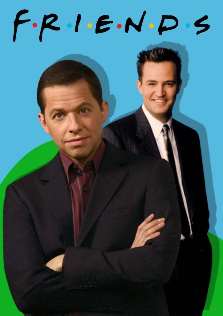 Two and a half men Jon Cryer as Chandler Bing?