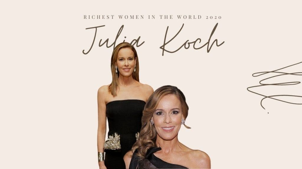 US' Third Richest Woman - Julia Koch