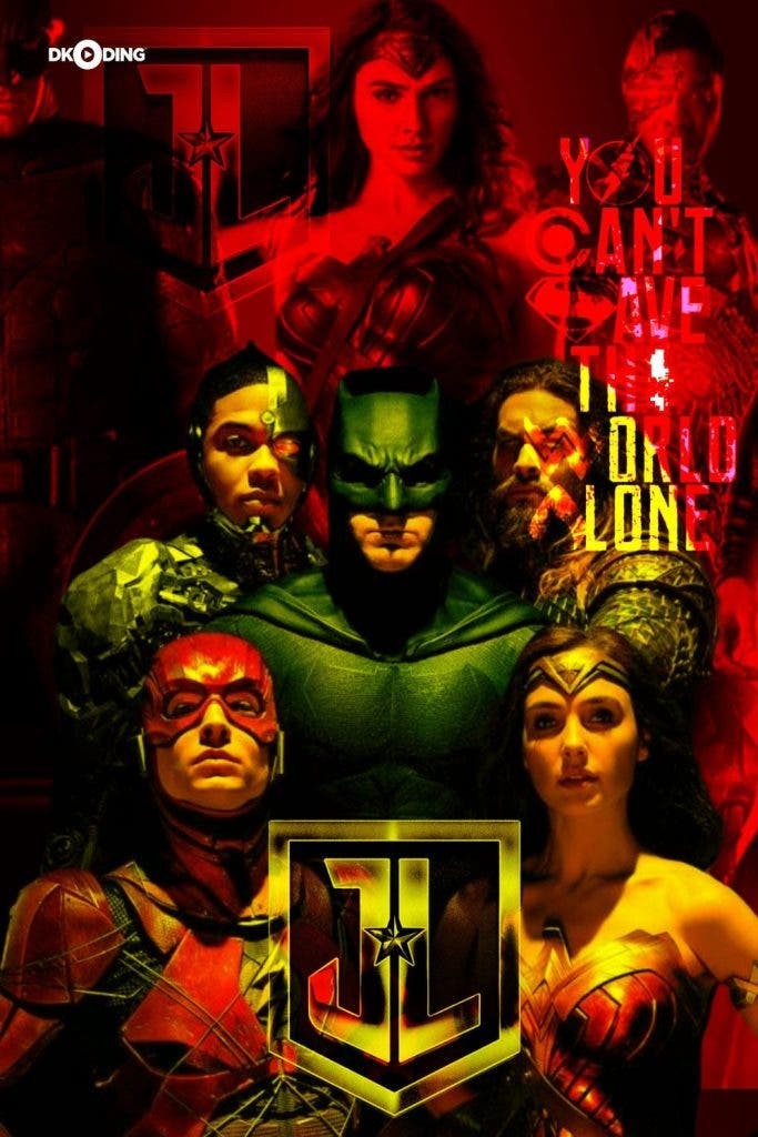 Justice League The Snyder Cut heroes