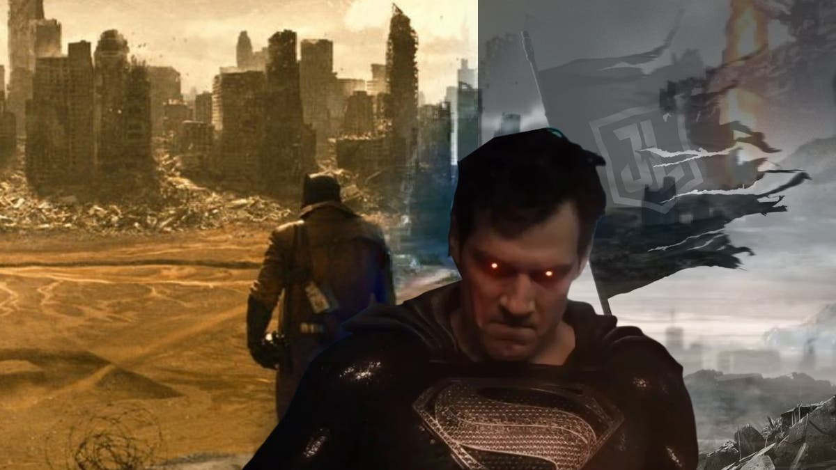 Snyder Cut Knightmare Sequence