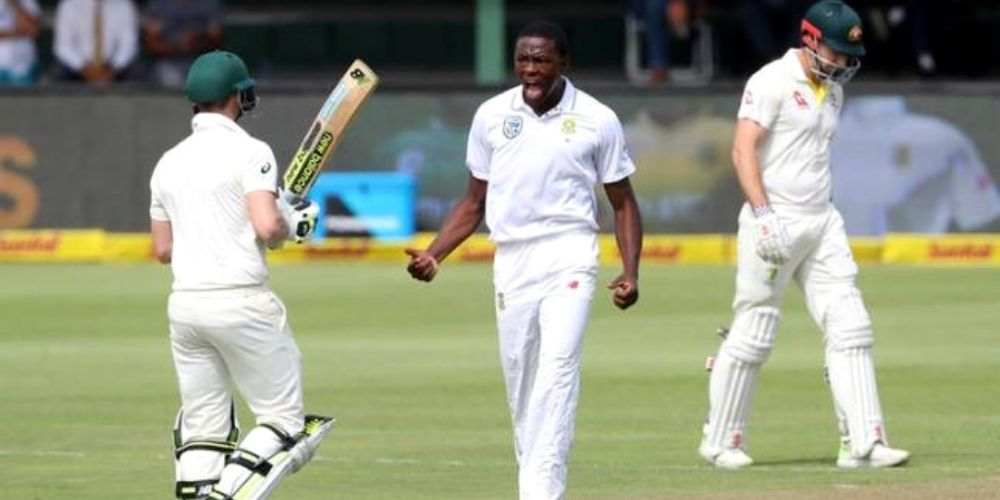 Kagiso Rabada Test Cricket Sports DKODING
