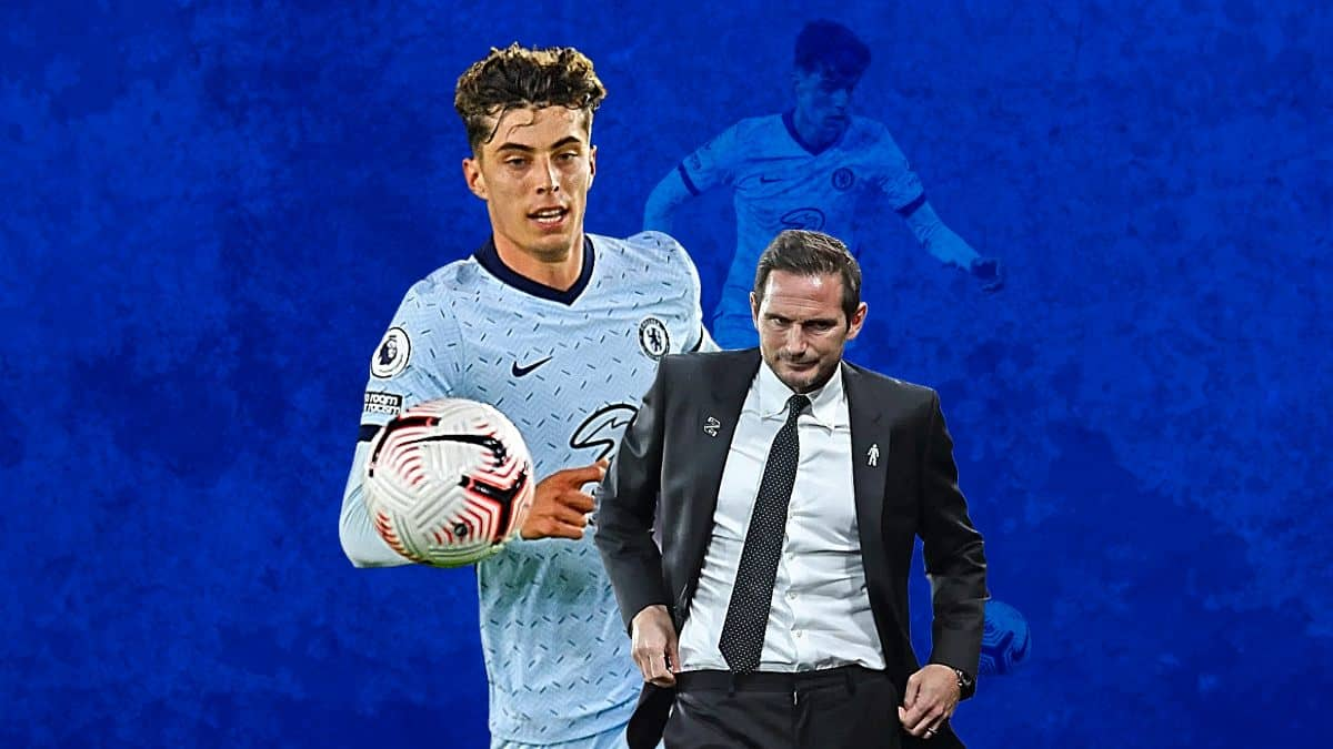 Kai Havertz Frank Lampard Chelsea Headache