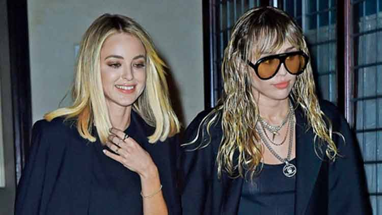Split, kiss, ring! Relationships move too fast in Miley Cyrus' world