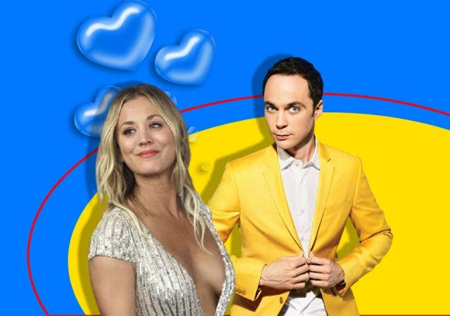 Jim Parsons and Kaley Cuoco Friends