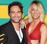 Kaley Cuoco and Johnny Galecki reached the sets to film 'The Big Bang Theory' Season 13
