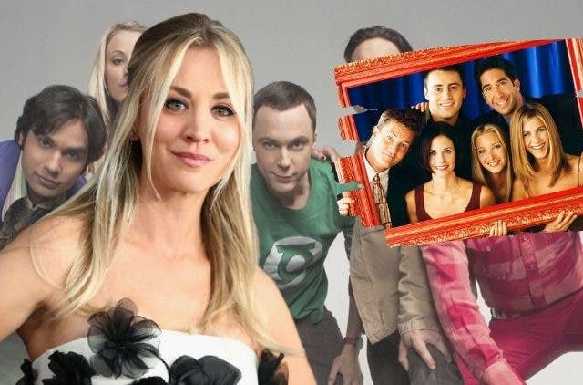 Kaley's Cuoco's dream of Big Bang and Friends crossover