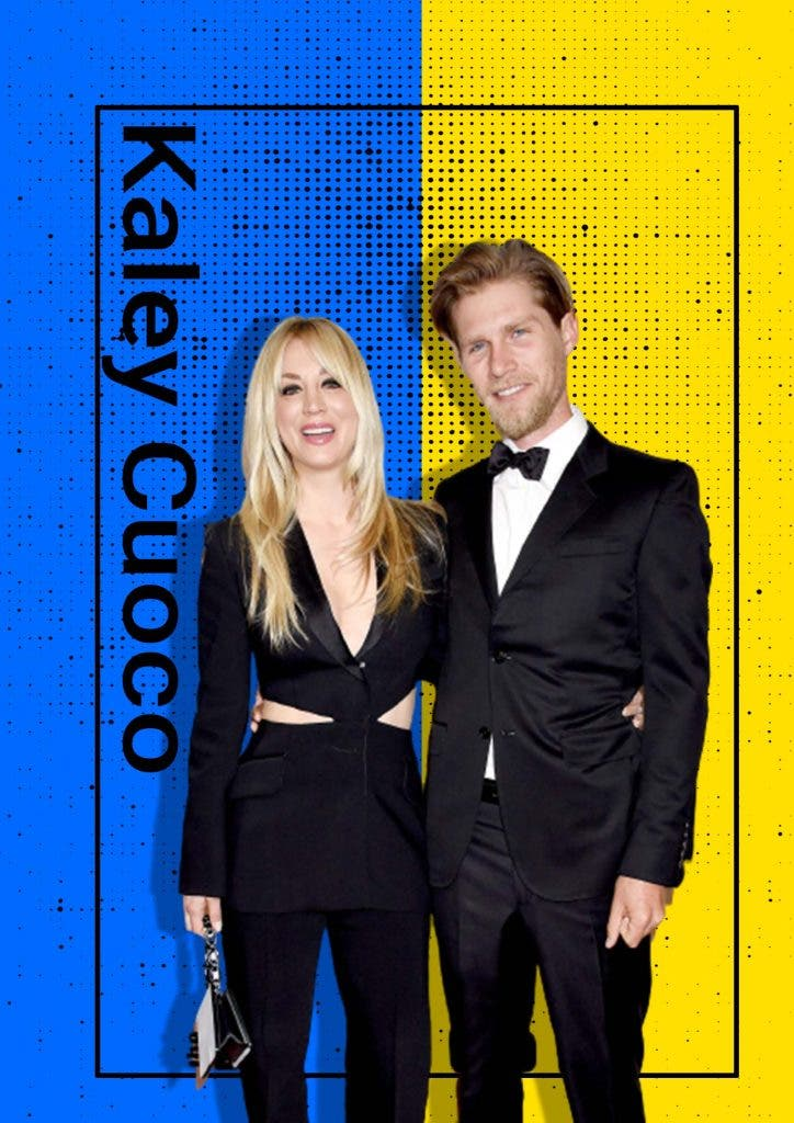 Kaley Cuoco and her husband at unease in the pandemic
