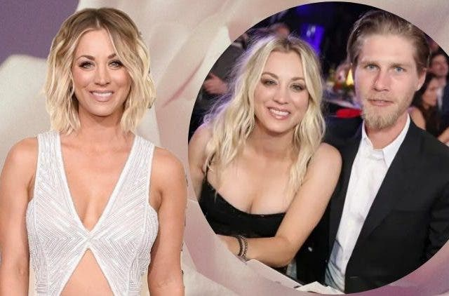 Kaley Cuoco shared a quarantine picture with husband Karl Cook
