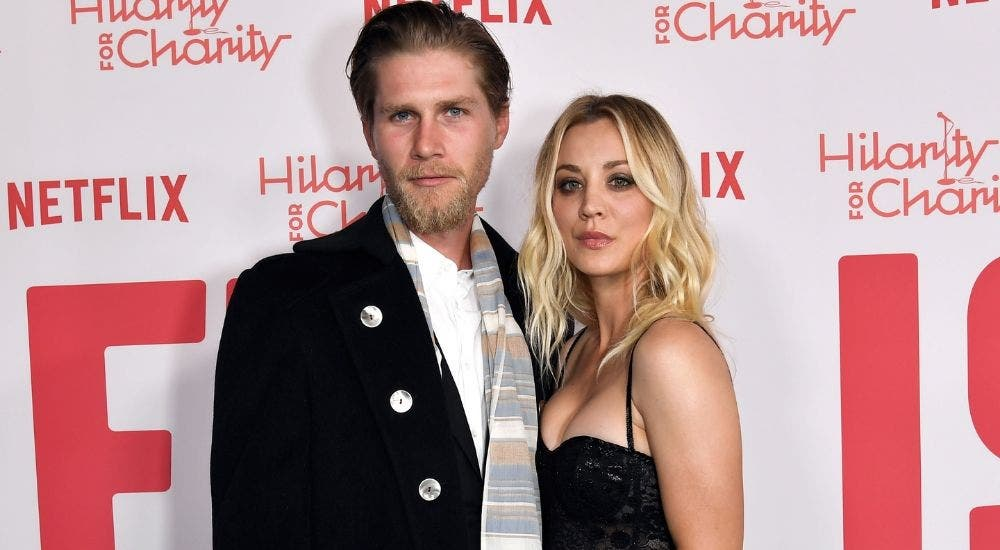 Kaley Cuoco and Karl Cook enjoying quarantine days