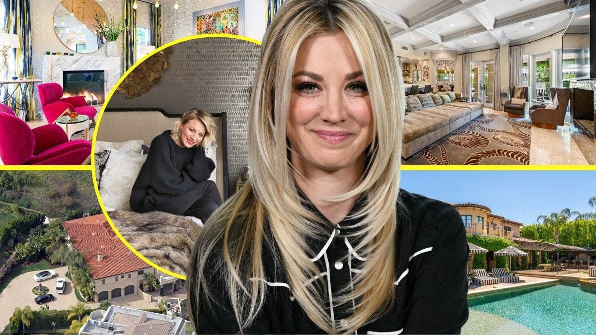 Kaley Cuoco Cannot Stop Doing This At Her Luxurious LA Home