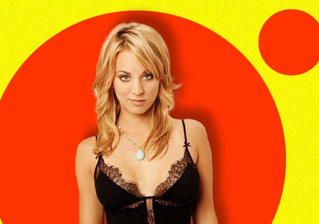 Kaley Cuoco appeared like a girl next door on 'The Big Bang Theory'