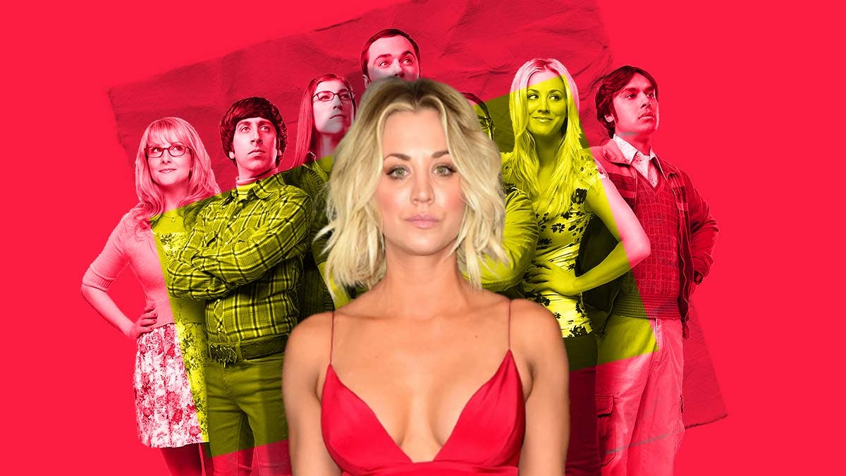 How did Kaley Cuoco react when she heard about the ending of 'The Big Bang Theory'?
