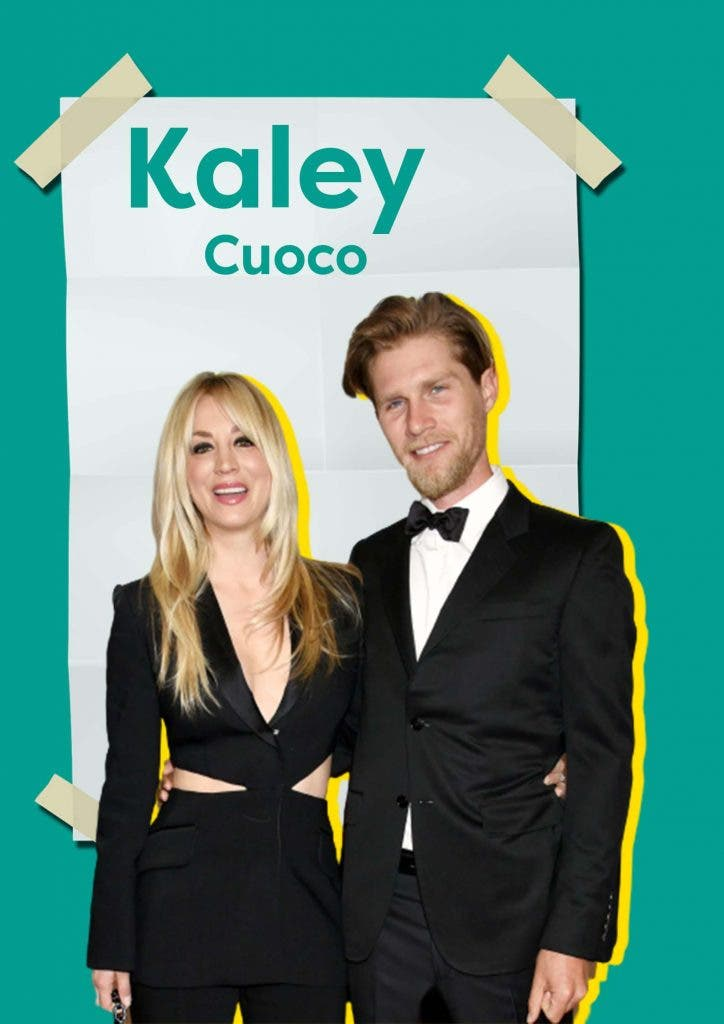 Kaley Cuoco's husband has to try very hard to keep her happy