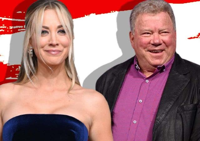 Kaley Cuoco William Shatner