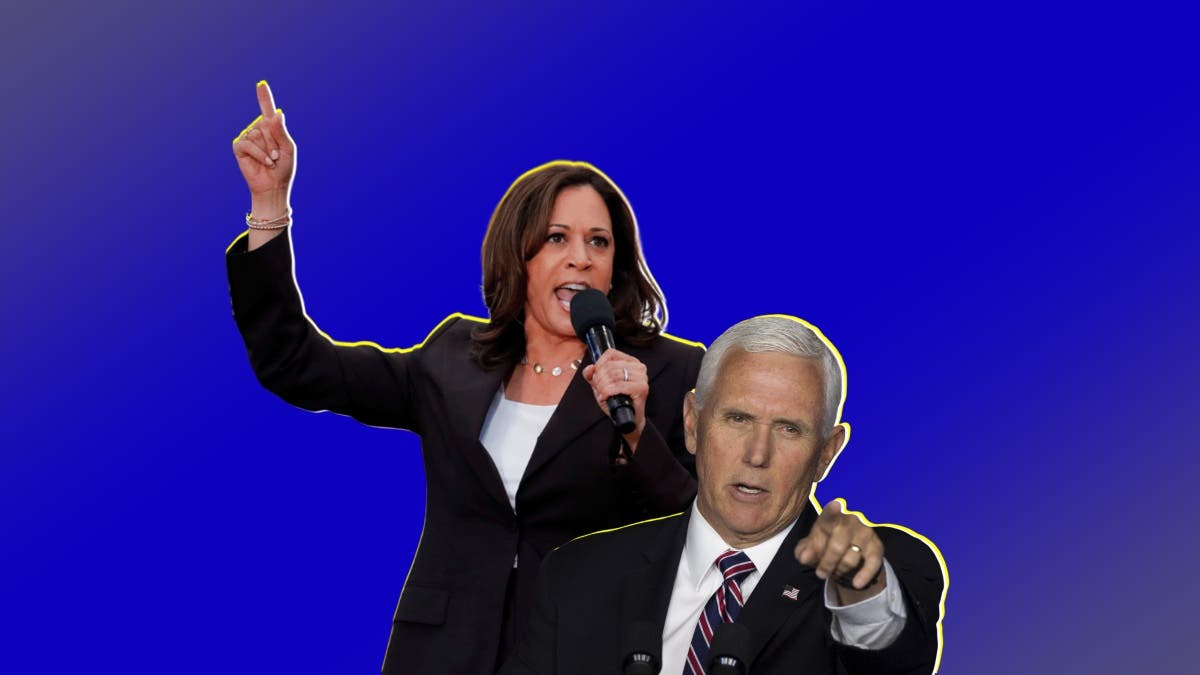 Fiery Kamala Harris And Calm Mike Pence Fight Out The Actual Presidential Debate Of 2020