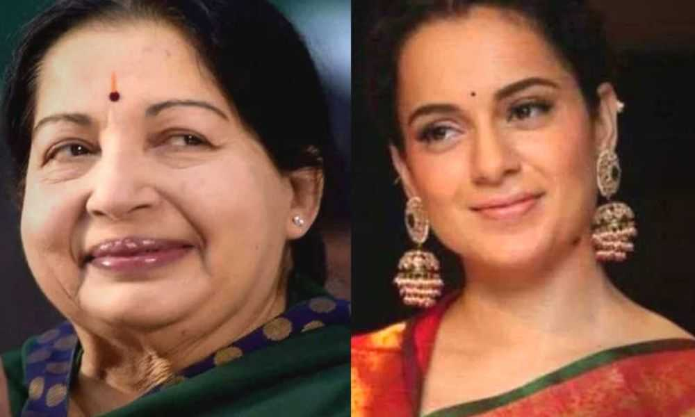 Kangana Ranaut As Jayalalithaa Bollywood DKODING