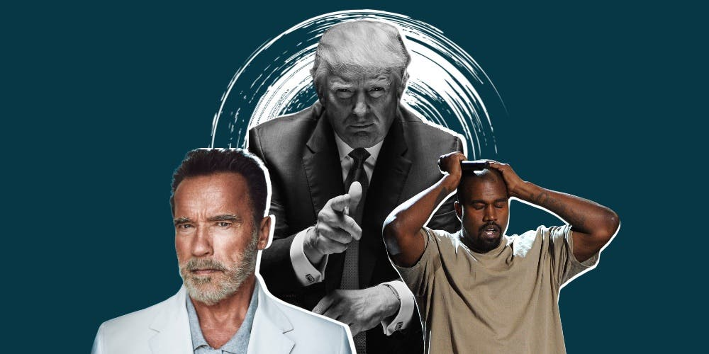 Not Kanye West Trump Or Biden Arnold Schwarzenegger For Us President 2020 Dkoding