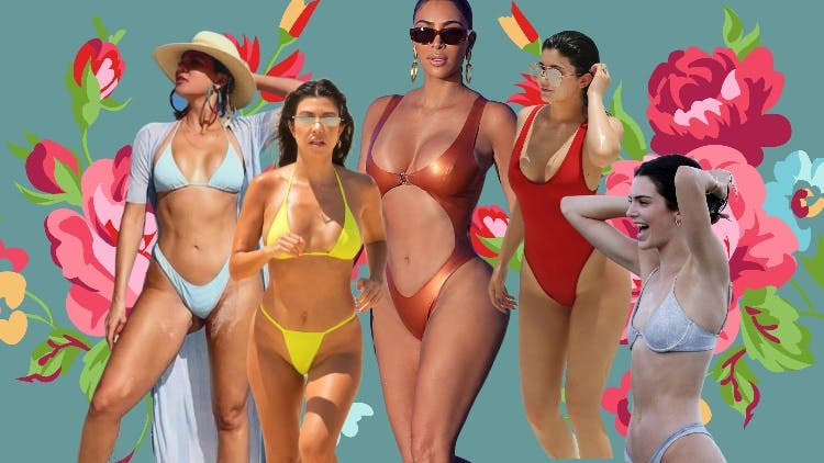 Serving Your Monday With Hot Pictures Of The Kardashians And The Jenners -  DKODING