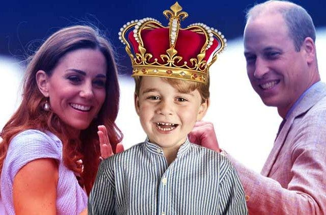 Kate-Middleton-Prince-George-Prince-William-Crown-Throne-Trending-Today-DKODING
