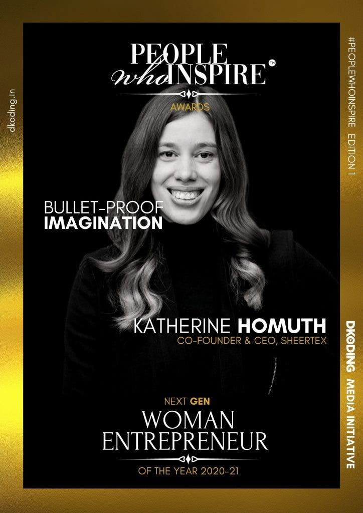Katherine Homuth People Who Inspire PWI Woman Entrepreneur of the Year Award 2020-21