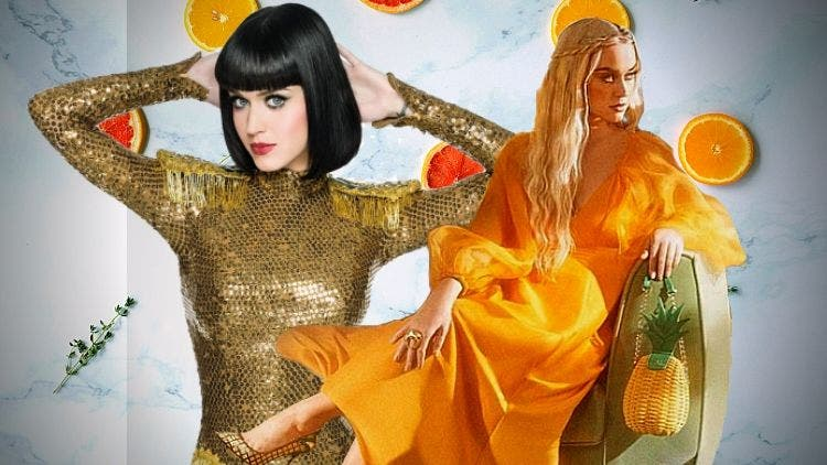 Katy Perry Takes Tuesday Shoesday To A Whole New Level With A Stunning Pose In Gold