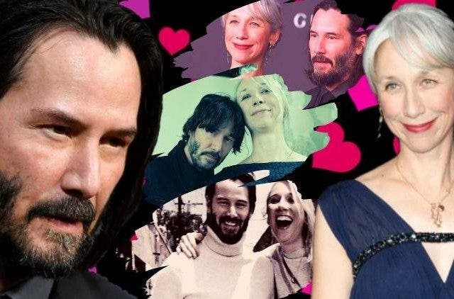 Keanu Reeves and Alexandra Grant DKODING